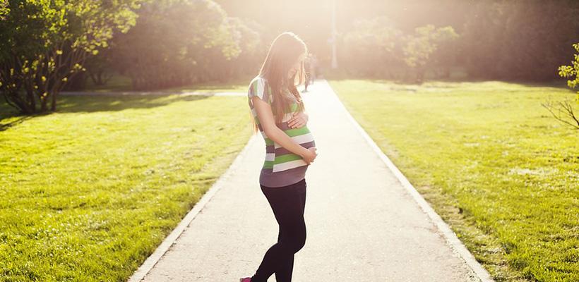En embarazo meses vientre de dolor el 6