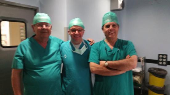 Equipo de cirugía mamaria del Hospital Clínico de Valencia